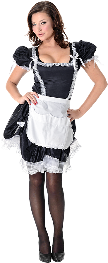 Anna Polina French Maid istripper model